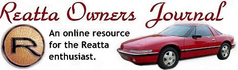 Reatta Owners Journal